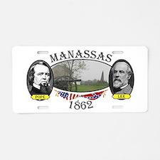 Manassas (2nd) Aluminum License Plate