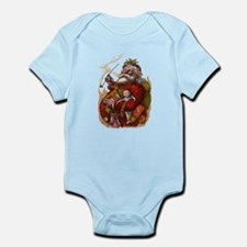 Vintage Christmas Santa Claus Infant Bodysuit