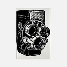 8mm Camera Rectangle Magnet