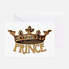 PRINCE Crown Greeting Cards (Pk of 10)