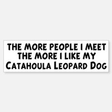 Catahoula Leopard Dog: people Bumper Bumper Bumper Sticker