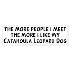 Catahoula Leopard Dog: people Bumper Bumper Sticker