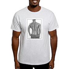 Arik Tease Ash Grey T-Shirt