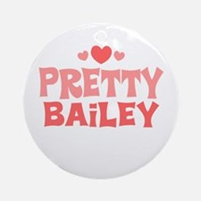 Bailey Ornament (Round)