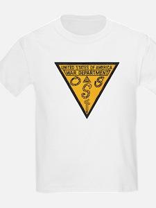 War Dept OSS Kids T-Shirt