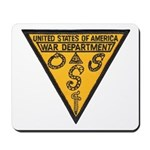 War Dept OSS Mousepad