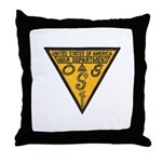 War Dept OSS Throw Pillow
