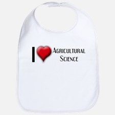 I Love (Heart) Agricultural S Bib