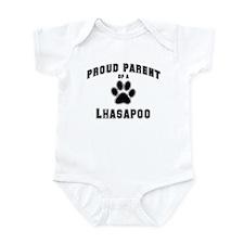 Lhasapoo: Proud parent Infant Bodysuit