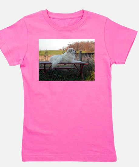 Great Pyrenees Girl's Tee