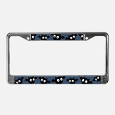 Cute Bat Pattern License Plate Frame
