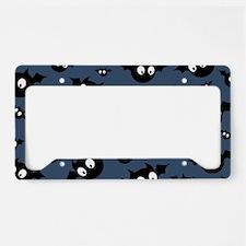 Cute Bat Pattern License Plate Holder