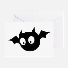 Cute Bat Greeting Cards