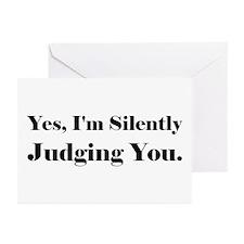 Unique Judge Greeting Cards (Pk of 20)