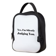 Unique Yes Neoprene Lunch Bag
