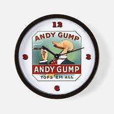 Andy Gump reproduction cigar lable Wall Clock