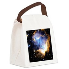 Star Clusters Canvas Lunch Bag