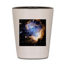 Star Clusters Shot Glass