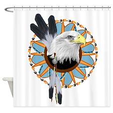 Eagle Dreamcatcher Shower Curtain