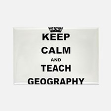 KEEP CALM AND TEACH GEOGRAPHY Magnets