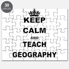 KEEP CALM AND TEACH GEOGRAPHY Puzzle