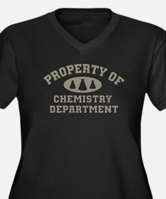 Property Of Chemistry Department Plus Size T-Shirt