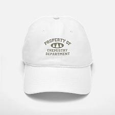Property Of Chemistry Department Baseball Baseball Baseball Cap