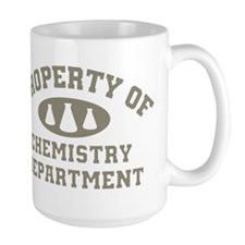 Property Of Chemistry Department Mugs