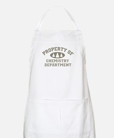 Property Of Chemistry Department Apron