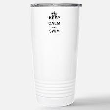 KEEP CALM AND SWIM Travel Mug