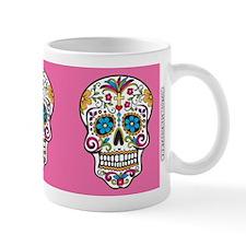SugarSkull Halloween Pink Mugs