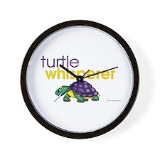 turtle whisperer Wall Clock