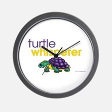 turtle whisperer Wall Clock