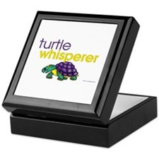 turtle whisperer Keepsake Box