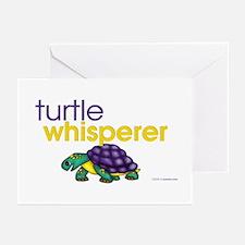 turtle whisperer Greeting Cards (Pk of 10)