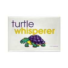 turtle whisperer Rectangle Magnet