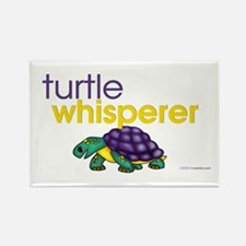 turtle whisperer Rectangle Magnet