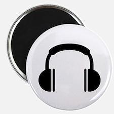 "Headphones music DJ 2.25"" Magnet (100 pack)"