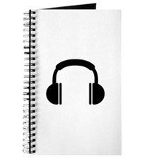 Headphones music DJ Journal