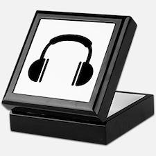 Headphones music DJ Keepsake Box