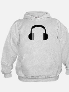 Headphones music DJ Hoodie