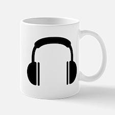 Headphones music DJ Mug
