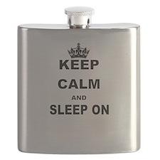 KEEP CALM AND SLEEP ON Flask