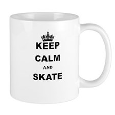 KEEP CALM AND SKATE Mugs