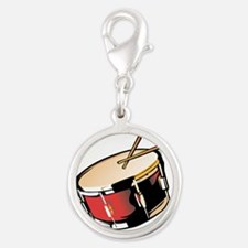 realistic snare drum red Charms
