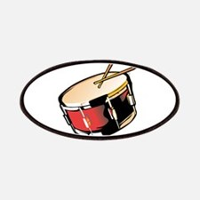 realistic snare drum red Patches