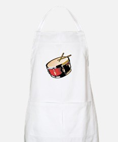 realistic snare drum red Apron
