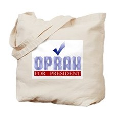 Oprah for Prez Tote Bag