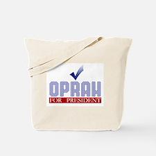 Oprah for Prez Tote Bag
