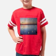 clk_low_sunset_withdock_png Youth Football Shirt
